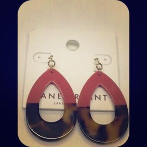 Lane bryant colorblock earrings